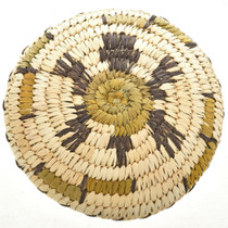 Papago Indian Turtle Basket 22599