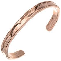 Navajo Copper Cuff Bracelet 23116