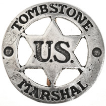 Tombstone US Marshal Silver Badge 29012