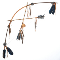Indian Crossed Arrows Bow Display 29718