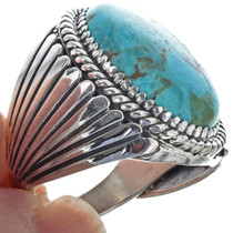 Kingman Turquoise Sterling Ring 29271