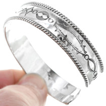 Native American Silver Cuff 24783