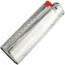 Sterling Flower Leaf Lighter Case 27605