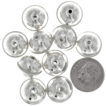 Sterling Silver Seam Beads 34715