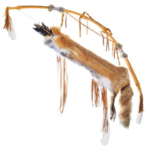 Native American Red Fox Quiver 29058