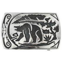 Walking Bear Southwest Belt Buckle 29244
