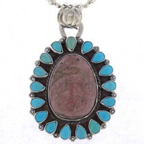 Navajo Large Gemstone Pendant 25353