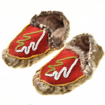 Childs Beaded Moccasins