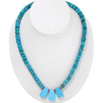 Turquoise Heishi Necklace 26791
