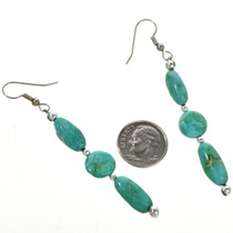 Turquoise French Hook Earrings 29247