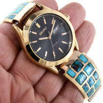 Vintage Mens Gold Watch 28921