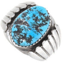 Sleeping Beauty Turquoise Silver Ring 14326