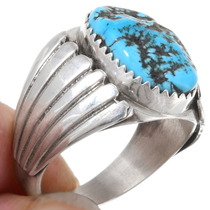 Big Boy Sterling Navajo Ring 14326