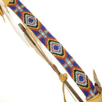Beaded Buckskin Display 12188