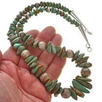 Nevada Turquoise Bead Necklace 22728