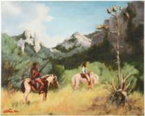 Chiricahua Apache Indians Canvas Print 16373