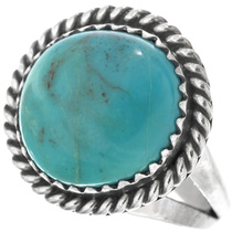Turquoise Silver Ring 26504