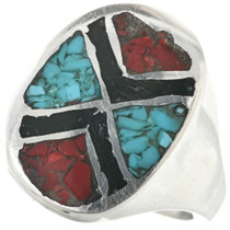 Turquoise Mens Ring 25519