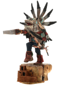 White Ogre Kachina Doll 27608