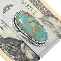 Green Turquoise Money Clip 24013