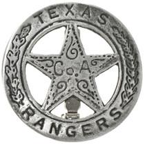 Texas Rangers Co. A Silver Badge 29199
