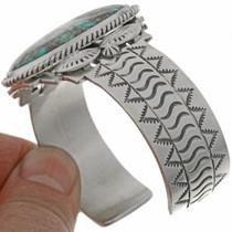 Navajo Hammered Silver Bracelet 27184