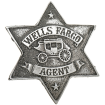 Wells Fargo Agent Silver Badge 29190