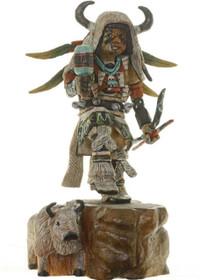 Hopi Buffalo Dancer Kachina 14854