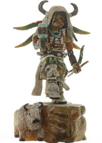 Hopi Buffalo Dancer Kachina 14854