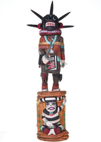 Black Ogre Kachina Doll 29133