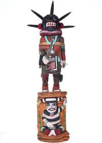 Black Ogre Kachina Doll
