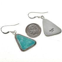 Green Kingman Turquoise Earrings 29245