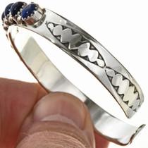 Southwest Hammered Silver Bracelet 29229
