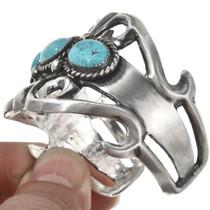 Kingman Turquoise Silver Bracelet 29311