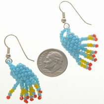 Traditional Southwest Beaded Earrings 29381