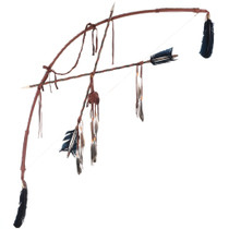 Plains Indian Style Bow and Arrows 30733