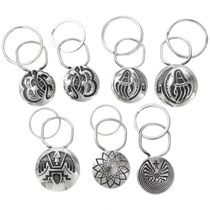 Assorted Navajo Hopi Patterns Key Chain 27503