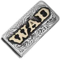 Custom Silver Gold Money Clip 33250