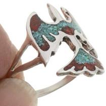 Thunderbird Turquoise Ladies Ring 27083