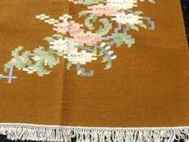 Indian Floral Wool Rug 25125