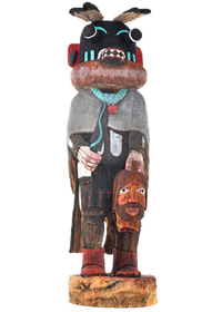 Hopi Priest Killer Kachina Doll 29581