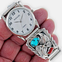 Southwest Turquoise Watch 24526