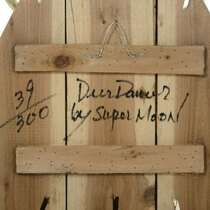 Deer Dancer Spirit Mask Native American Wall Decor Ltd Edition