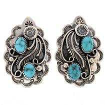 Turquoise Blossom Earrings 22384