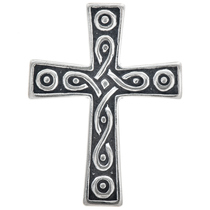 Sterling Silver Celtic Cross Charm 35426