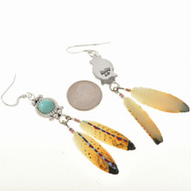 Navajo Sterling Drop Earrings 22070