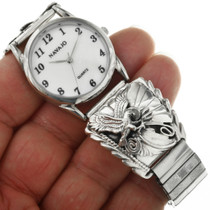 Native American Sterling Eagle Watch 23034