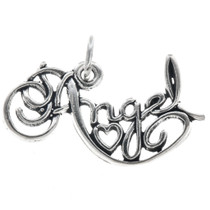 Sterling Silver Angel Charm 35425