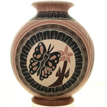 Mata Ortiz Butterfly Pottery 28500