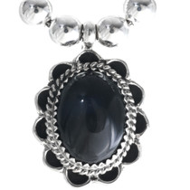 Black Onyx Necklace 28914